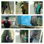 Pembersihan kali cilameta & selokan Jl.AH.Nasution @ridwankamil @DiskominfoBdg @PemumBdg @KecamatanCibiru http://t.co/BabCORC1vd