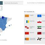 Consulta aquí todos los resultados de las elecciones autonómicas y municipales http://t.co/5VQ1AH9DoS #eleccionesA3 http://t.co/396QseZfZO