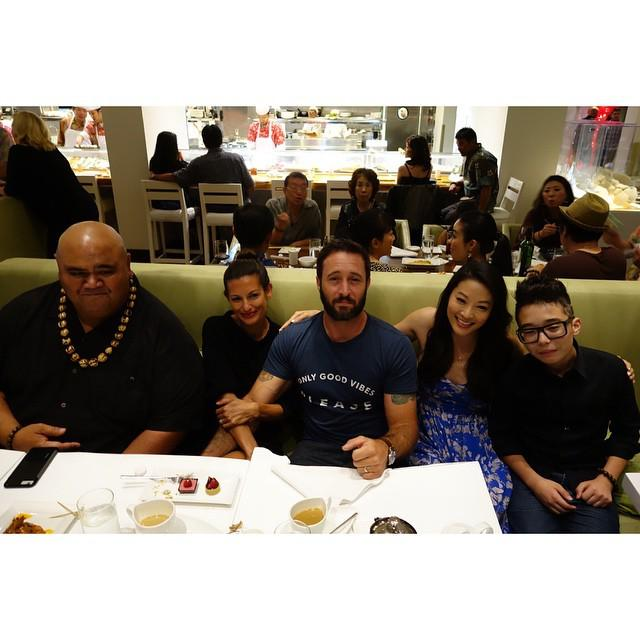 Good times & good friends at chef Morimoto's birthday party! #H50 http://t.co/3oozRVviNK http://t.co/sJTfFRUQMq
