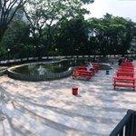Cikapundung River Spot perombakan lapangan parkir Jl. Cikapundung Timur. Destinasi wisata Bandung baru :) #wisataBDG http://t.co/1UePRpoo26