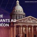 Mercredi, 4 Résistants entrent au Panthéon http://t.co/DA352L2cet
