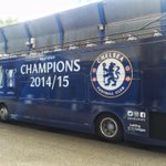 "One of Chelsea Special :) RT ""@ChelseaFC: Hows this for a parked bus! #alltheway http://t.co/N7htwMbvXc"""