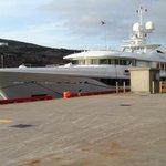 The 180 ft yacht  KAMALAYA  in port St. Johns #nltraffic @590VOCM http://t.co/KH1Bwqwakw