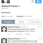 So Falcao got rid of his bio with Manchester United and has now just got Manchester, weird? Very weird http://t.co/DiBJJ3p6Yi