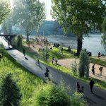 Wow! «Paris Plans to Reinvent the River Seine With Parks, a Promenade, and No Cars»   http://t.co/bb1mMFKNAL http://t.co/i8wytIBxI7