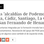 Alcaldías de la unidad popular de la izquierda, ¿aprenderemos esta vez? #PrimaveraDelCambio http://t.co/o7F71LSri9 http://t.co/RhsGWdvtv6