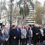 Participamos del acto de conmemoración por la Revolución de Mayo. Buen discurso de @MonicaFein. http://t.co/eeIgmnrX3m