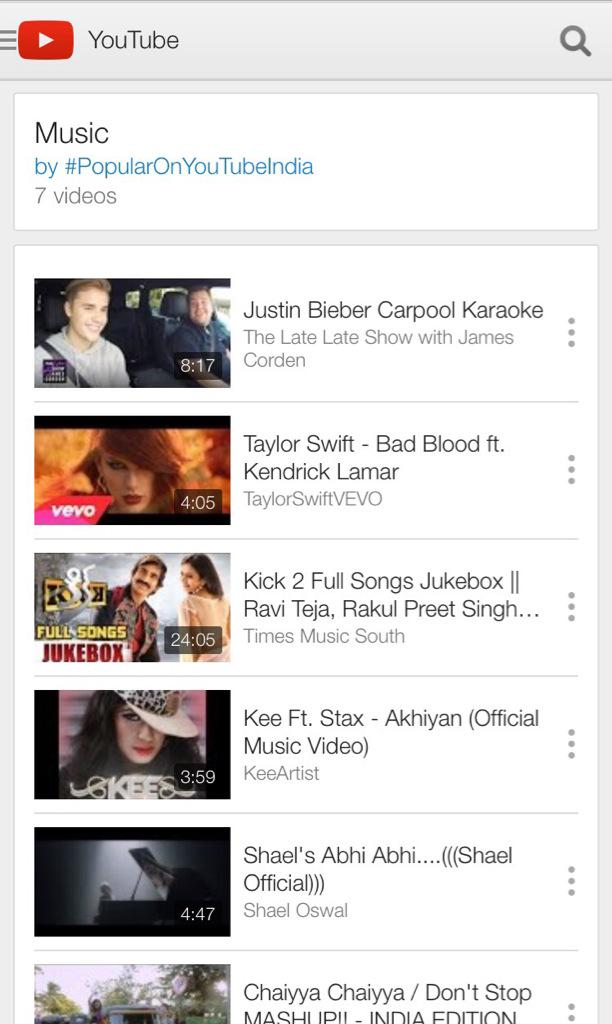 Check out who is trending #n04 #youtubeindia right now!!! #kee #akhiyan