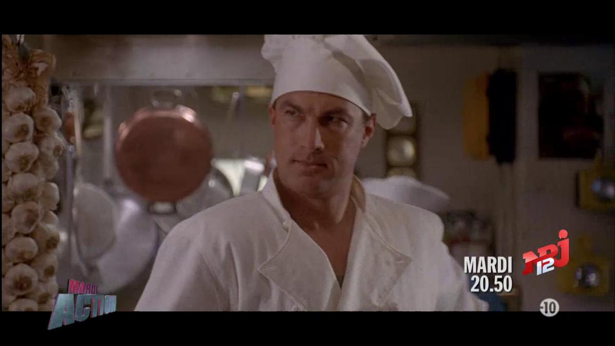 Mardiaction sur nrj12 dans un instant steven seagal for Cuisinier particulier