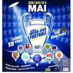 Tous solidaires de la Ligue des Champions des joueurs de 10 ans! ???? Rdv les 30&31 mai prochain à Guipry-Messac http://t.co/loJIJO15Ge