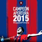 ¡Felicidades a @CCP1912oficial! ¡Campeón del torneo Apertura 2015! #CopaDePrimera! http://t.co/8oYthZhQxN
