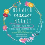 This Saturday! The banners are up and were ready to go. Cant wait to see you there! #norwichmakersmarket #norwich http://t.co/afqqhUJEtV