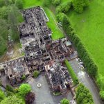 New drone footage shows the full extent of the fire destruction at an hotel near #Bridgnorth. http://t.co/ZLcMhTxo6x http://t.co/NvxD6rSjH6