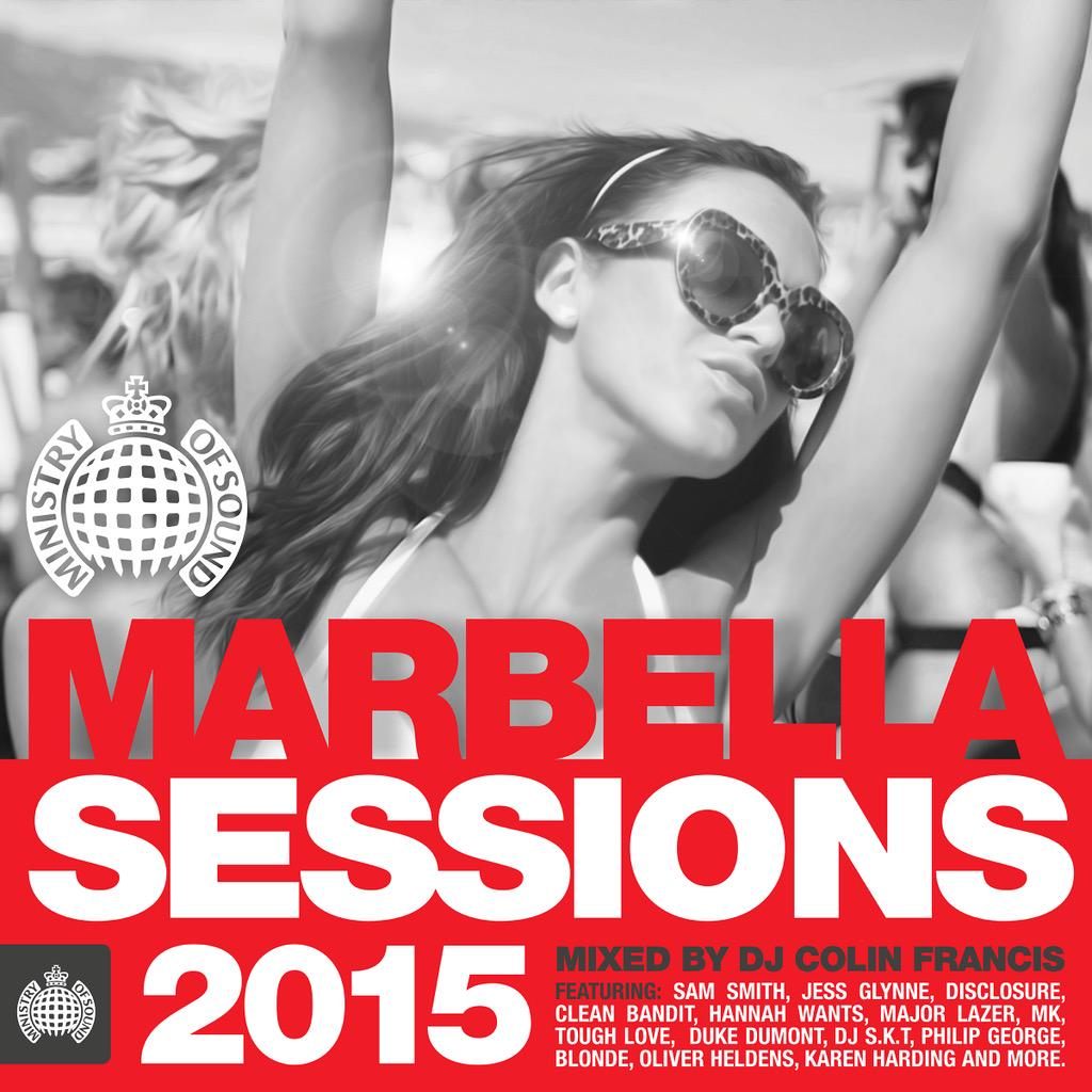 "YES!!! Finally My ""MARBELLA SESSIONS 2015"" is OUT NOW w/ @ministryofsound ☀️"