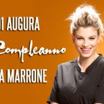 Buon compleanno @MarroneEmma #BuonCompleannoEmma #EmmaMarrone http://t.co/Ans2fhJxLB