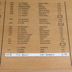 The newest name of the Lords Honour Board - @trent_boult  #backtheblackcaps #engvnz #lords ^CE http://t.co/OGijSDLHqn