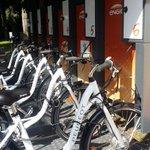 Magnifique installation de mobilité durable à Roland Garros, Bravo @innovbyENGIE #ENGIETennis http://t.co/o0CFJOPvka