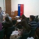 Seremi de Salud da palabras de bienvenida en inauguración de jornada regional de prevención del suicidio. #Iquique http://t.co/WPQWXauxhI