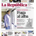 #Portadasdeldía: La fuga (anticipada) de Martín Belaunde Lossio http://t.co/W44XyNh24x http://t.co/GUqxGfA18O