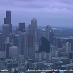 Cloudy skies in #Seattle this morning...a little sun at times later today. Weather every 10 min. on @KIRO7Seattle! http://t.co/CTr0yZSoLb