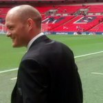 WEMBLEY   City boss Alex Neil steps out onto the @wembleystadium turf. #OurFinalStep http://t.co/AOSVYCHgTp