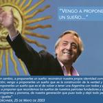 """""""Vengo a proponerles un sueño"""" –Néstor Kirchner, #25deMayo de 2003. http://t.co/uDQzQCXeyx"""