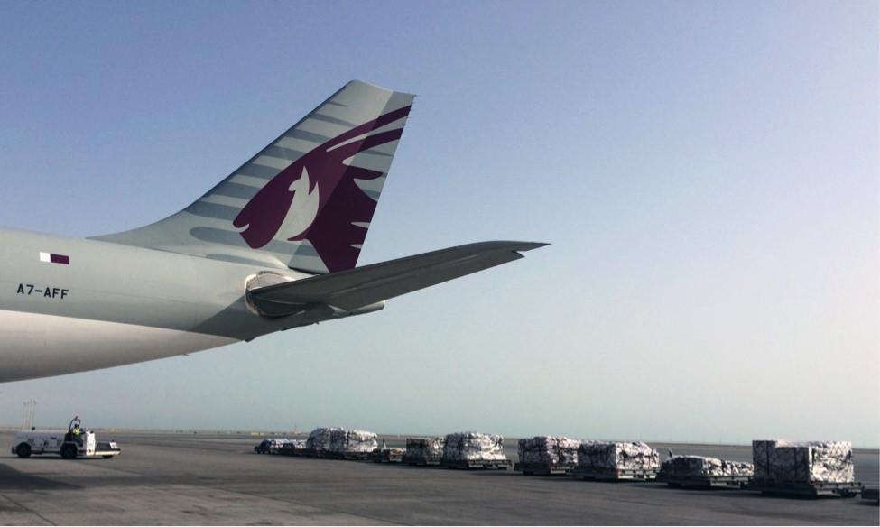 الشركة القطرية للشحن الجوي تواصل جهود الإغاثة لمساعدة سكان نيبال.