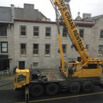 "???? ""@mlaroch2: @YGKTraffic Foot of lower Princess St closed with a crane installing new HVAC #ygk http://t.co/9SMoIQXTZO"""