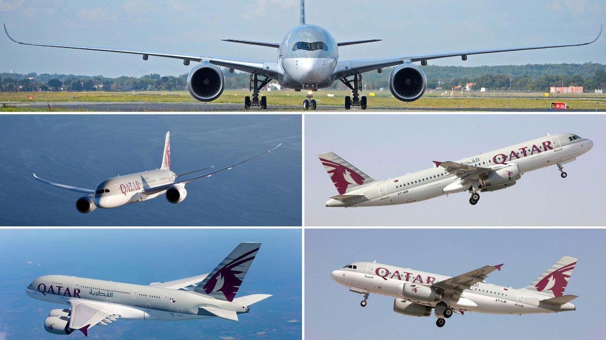 الخطوط الجوية القطرية تشارك بقوة بعرض خمس من طائراتها في معرض باريس للطيران هذا ال