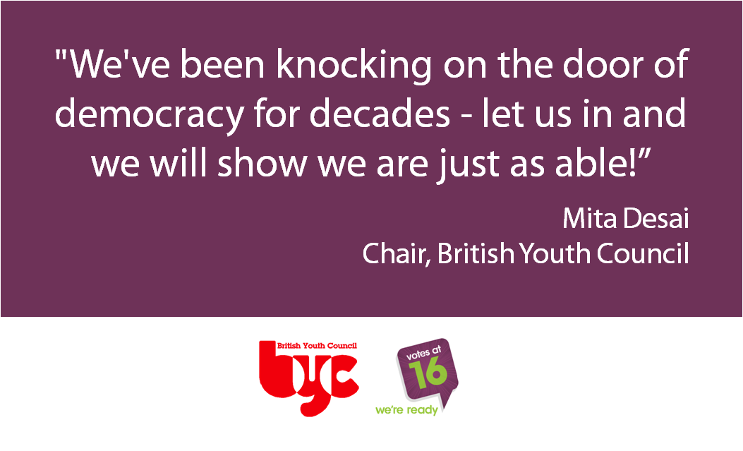 Our reaction to news that EU referendum will not include 16 and 17 year olds http://t.co/aZgYAboest #EURef #votesat16 http://t.co/iYsuZo4rkj