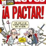 ¡Primicia! La portada de esta semana: «¡A PACTAR!» http://t.co/NXtkTno3d6