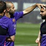 [SELECCIONADOS] Javier @Mascherano se entrenó con @FCBarcelona_es, esperando la final de la Copa del Rey, este sábado http://t.co/kibjebLLJz