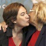 Enhorabuena a Ada Colau y Manuela Carmena dos grandes mujeres para la gente @mariano9605 http://t.co/6n9vOIcNYh