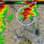 Watching this developing supercell between Argyle and Denton very closely! #wfaaweather http://t.co/UN4odLjax5