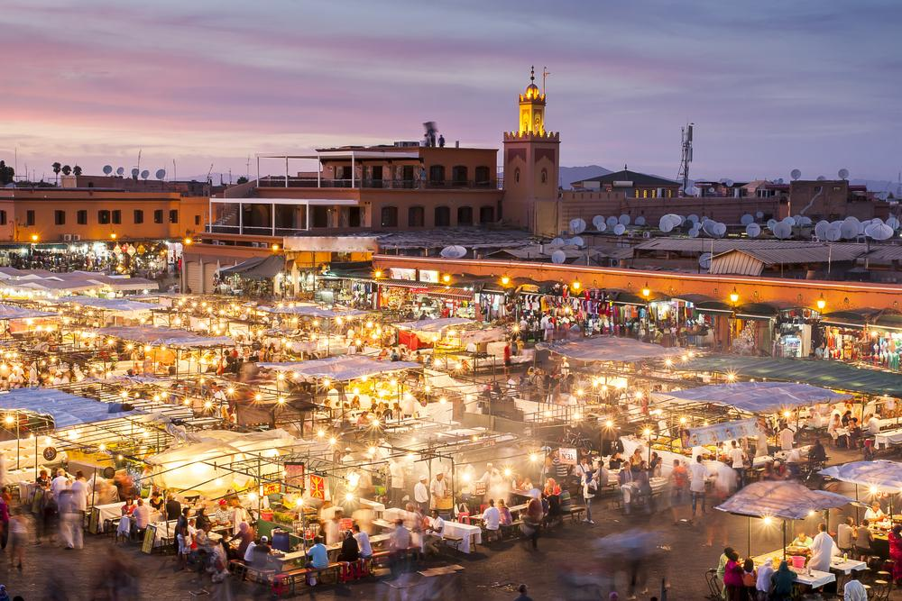 Have some medina, m'dear! The magical sights/sounds/aromas of Marrakesh, Morocco: