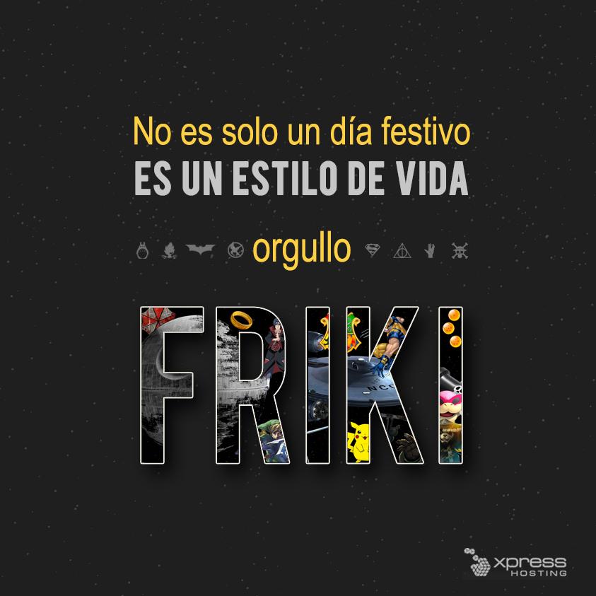 ¡Buen día del #OrgulloFriki! http://t.co/F86smKHZrb