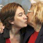 La #PrimaveraDelCambio tiene la cara femenina @AdaColau @ManuelaCarmena http://t.co/07D9sfgg8c