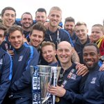 Image: The lads on the bus during the parade of Southend. Full gallery will be live tomorrow. #TheBluesAreGoingUp http://t.co/85CRBJdPEE