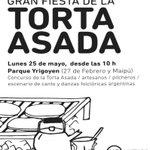 Ya estamos palpitando una nueva edición de la Fiesta de la torta asada en parque Yrigoyen #Cultura #RosarioEnAcción http://t.co/x4SBCxSpD8