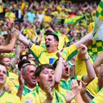 Norwich City have been promoted to the Premier League with a 2-0 Play-Off final win over Middlesbrough! #otbc http://t.co/NXTDzBDthY