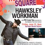 Rock the square #ygk with Hawksley Workman in Springer Market Square June 12, 8 p.m. Free http://t.co/B93nnIuD1n http://t.co/FKJPAJVlVZ