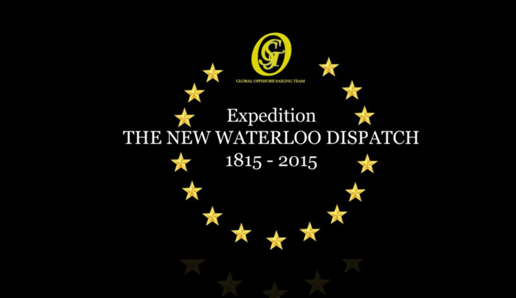 19.6.15:An international fleet will depart from Zeebrugge on sea to bring the NEW @Waterloo200org DISPATCH to Hamburg http://t.co/dfMFczapAF