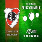 #Felices114RiverPlate ¡Feliz cumple @CARPoficial! La @AFA saluda al club y toda su gente en un nuevo aniversario. http://t.co/w984DxnOu8