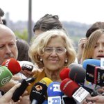 .@ManuelaCarmena se ve alcaldesa tras hablar con el PSOE http://t.co/gqg5wo8EPr #Eleccion2015 #24M http://t.co/VAe5hJardB