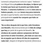 Che @lucasbernardi7, de qué hablaba julito Grondona? Nada que ver vos ahí, eh? No vimos nada en @lacapital todavía... http://t.co/su1AzR9xLS