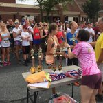 Congrats to our own KARLY R for placing 1st place overall female at the Dacula Memorial Day 5K ???????????? #falconsfly http://t.co/rtRR4wAd0V