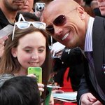 .@TheRock set the Guinness World Record for most selfies in 3 minutes (sorry, @alroker!): http://t.co/U0ZBskvvir