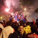 Cómo viviste la #FiestaAzulgrana!!!! ¡Somos merecidos CAMPEONES! http://t.co/vfCa5GlZZ3