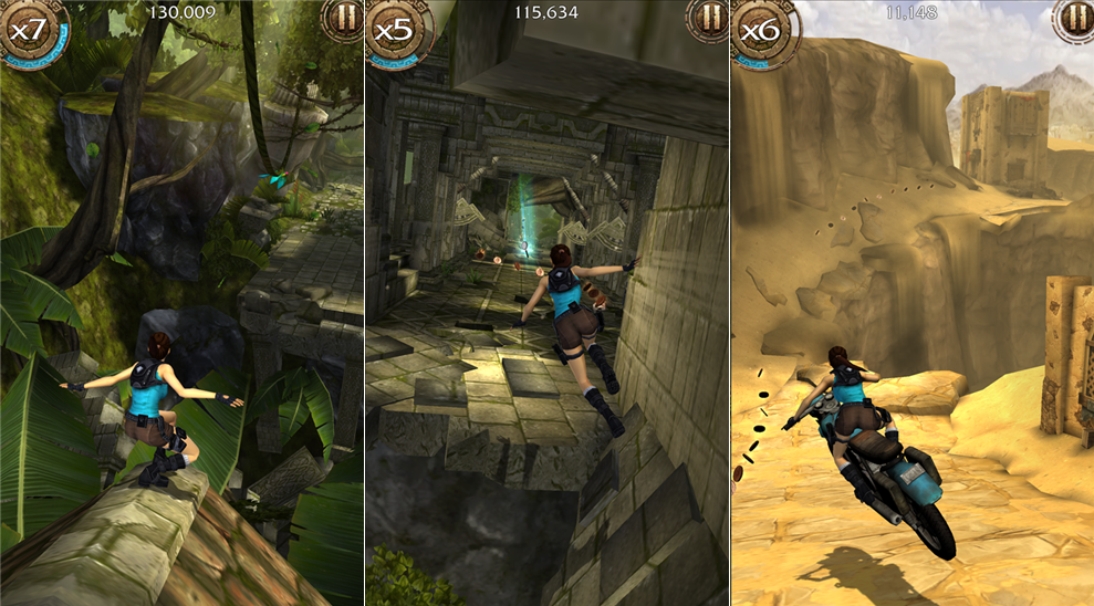 ThePocketTech : Lara Croft: Relic Run now available for Windows ...