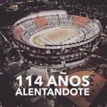 """- ماسكيرانو يُهنئ فريقه السابق (ريفر بليت) بمُناسبة مرور 114 عام على تاسيسه  #Felices114RiverPlate"""" http://t.co/zm34Mc2bpE (@Mascherano)"""